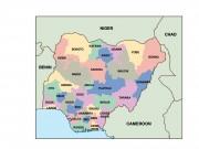 nigeria powerpoint map