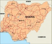 nigeria_countrymap vector map