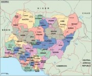 nigeria_political vector map