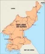 northkorea_countrymap vector map