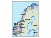 norway powerpoint map