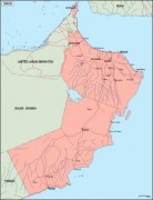 oman_geography vector map