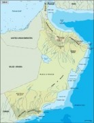 oman_topographical vector map