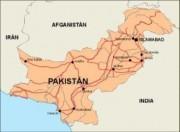 pakistan_countrymap vector map