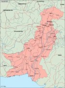 pakistan_geography vector map