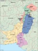 pakistan_political vector map