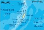 palau_topographical vector map