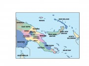 papua new guinea powerpoint map