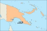 papuanewguinea_blankmap vector map