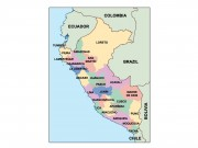 peru powerpoint map
