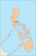 philippines_blankmap vector map