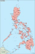 philippines_geography vector map