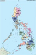 philippines_political vector map