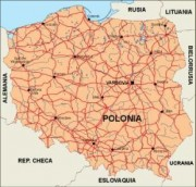 poland_countrymap vector map
