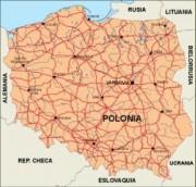 poland_countrymap vector map