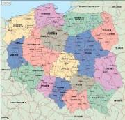 poland_political vector map