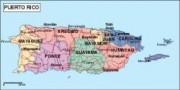 puertorico_political vector map