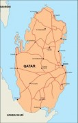 qatar_countrymap vector map
