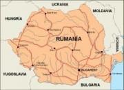 romania_countrymap vector map