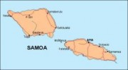 samoa_countrymap vector map