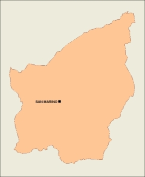 Download San Marino Vector Maps As Digital File Purchase Online - San marino map download