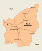 sanmarino_countrymap vector map