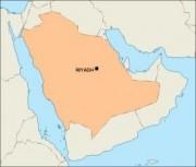 saudiarabia_blankmap vector map