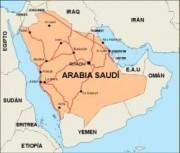 saudiarabia_countrymap vector map