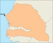 senegal_blankmap vector map
