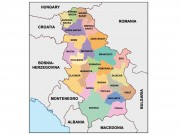 serbia powerpoint map