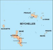 seychelles_countrymap vector map
