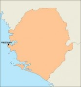 sierraleone_blankmap vector map