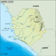 sierraleone_topographical vector map