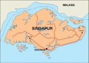 singapore_countrymap vector map