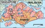 singapore_political vector map