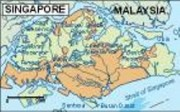 singapore_topographical  vector map vector map