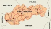 slovakrep_countrymap vector map