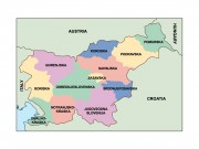 slovenia powerpoint map