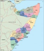 somalia_political vector map