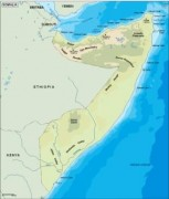 somalia_topographical vector map