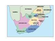 south_africa powerpoint map
