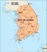 southkorea_countrymap vector map