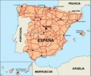 spain_countrymap vector map