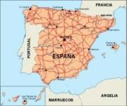 spain_countrymap vector map