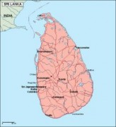 srilanka_geography vector map