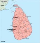 srilanka_geography vector map