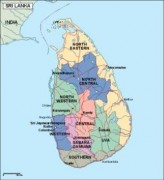 srilanka_political vector map