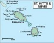 vector map stchristophernevis_political