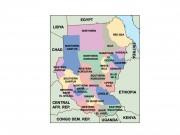 sudan powerpoint map