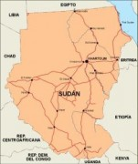 sudan_countrymap vector map
